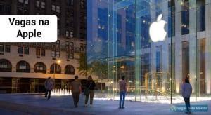 Apple esta contratando em todo o mundo
