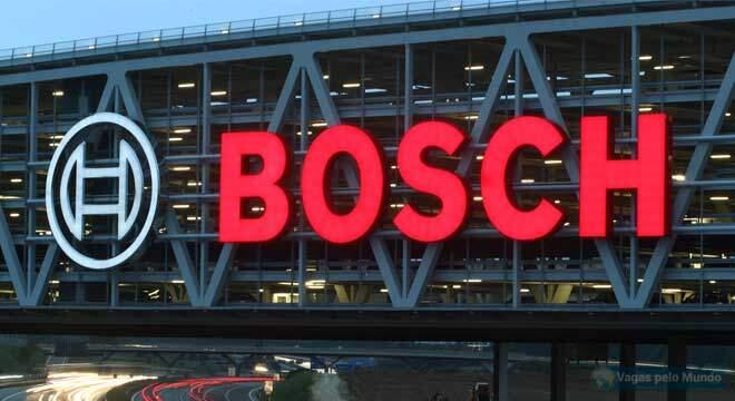 Bosch esta contratando em todo o mundo