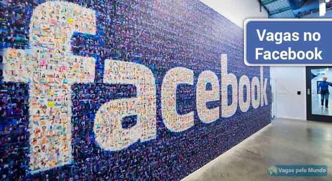Vagas abertas no Facebook