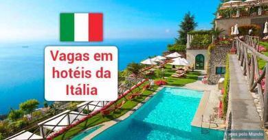 Vagas para trabalhar na Italia