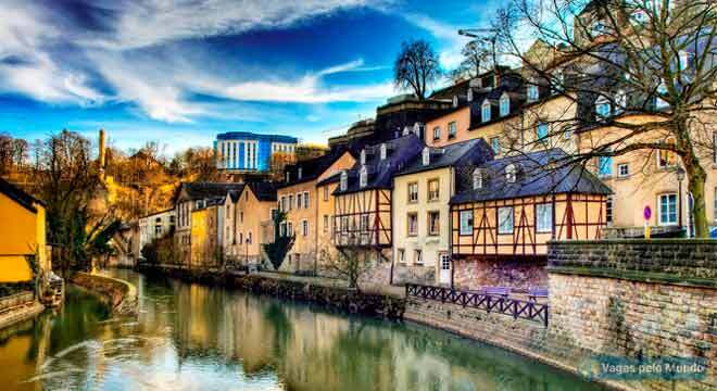 Vagas abertas em Luxemburgo