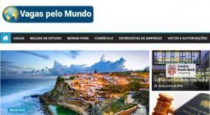 Website Vagas pelo Mundo