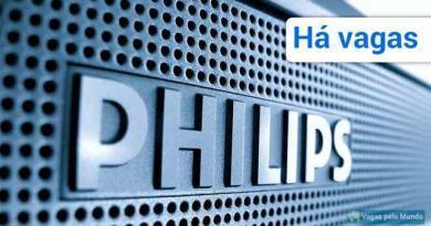 Vagas abertas na Philips