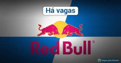 Red Bull esta selecionando profissionais em todo o mundo