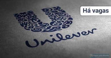 Vagas abertas na Unilever