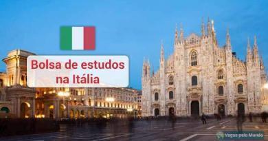 Estude na Italia com bolsa de estudos