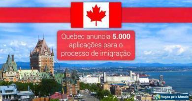 Quebec anuncia 5 mil novas aplicacoes para imigrantes