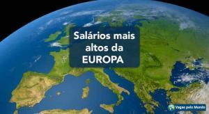 Os salarios mais altos da Europa