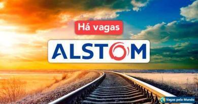 Alstom esta contratando em diversos paises