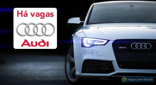 Vagas de emprego na Audi