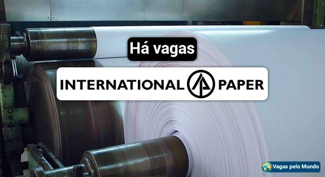 International Paper esta contratando