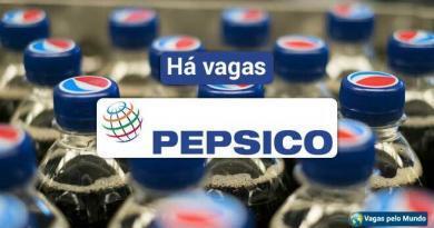 Pepsico esta contratando em todo o mundo