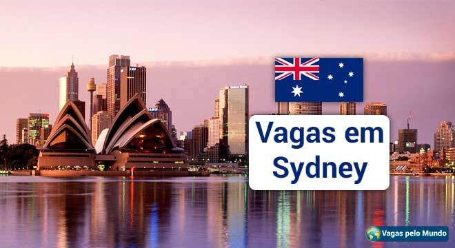 Vagas na Australia