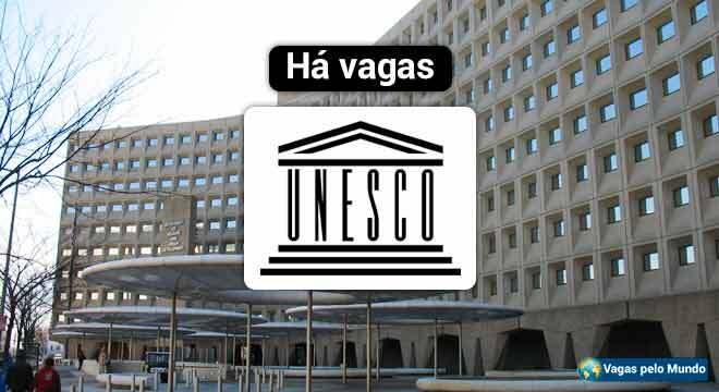 UNESCO esta contratando