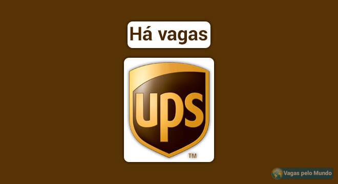 UPS esta contratando