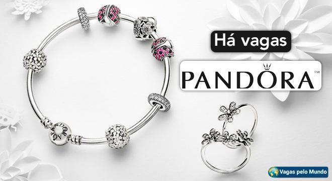Pandora esta contratando em diversos paises do mundo
