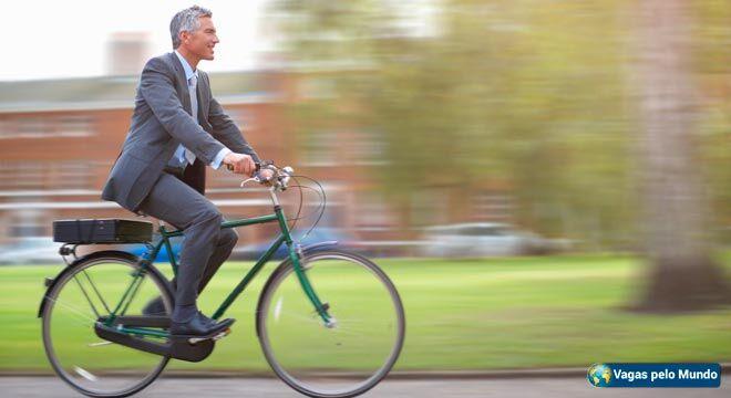 Utilizar a bicicleta para ir para o trabalho emagrece