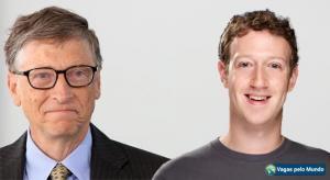 Bill Gates e Mark Zuckerberg dao dicas de como chegar ao sucesso