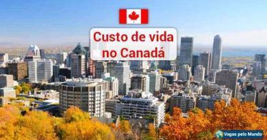 Custo de vida no Canada