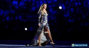 Gisele Bundchen impressionou o mundo na abertura das Olimpiadas do Rio