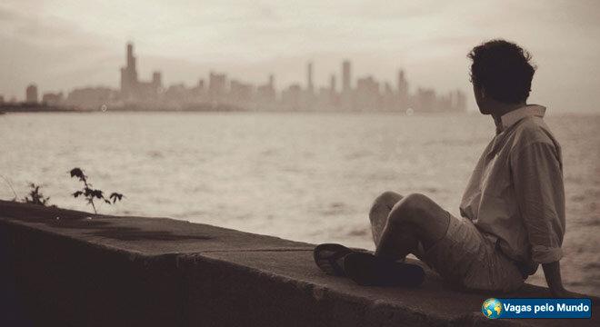 Morar fora: e a saudade
