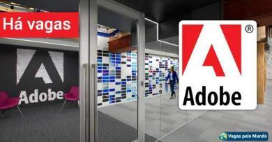Adobe esta contratando em diversos paises