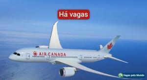 Vagas abertas na Air Canada