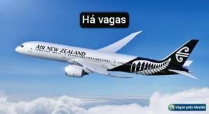 Vagas na Air New Zealand