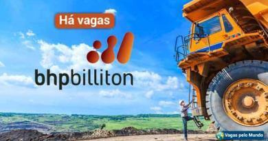 BHP Billiton esta contratando em diversos paises