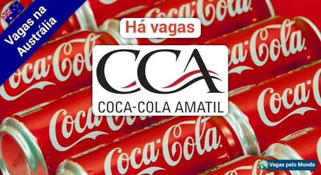 Coca-Cola Amatil esta contratando na Australia