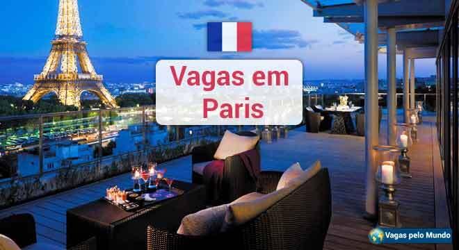 Vagas em hoteis em Paris