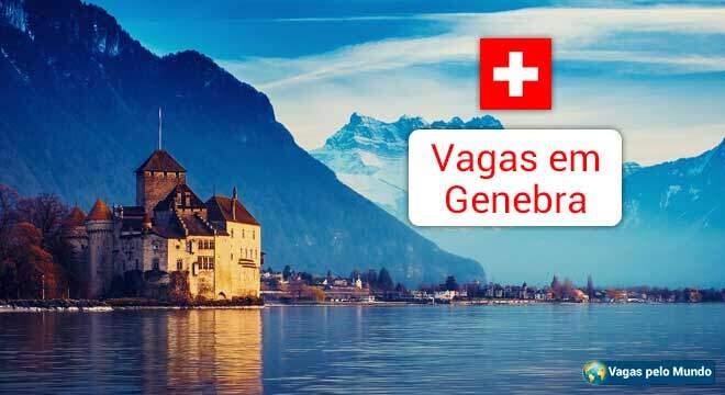 Vagas abertas em Genebra