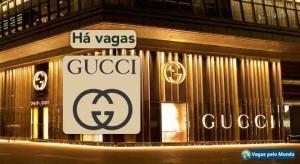 Vagas na Gucci