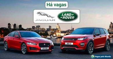 Jaguar Land Rover tem vagas abertas e salarios sao altos