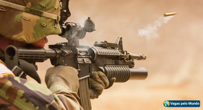 Empresa militar privada esta selecionando profissionais