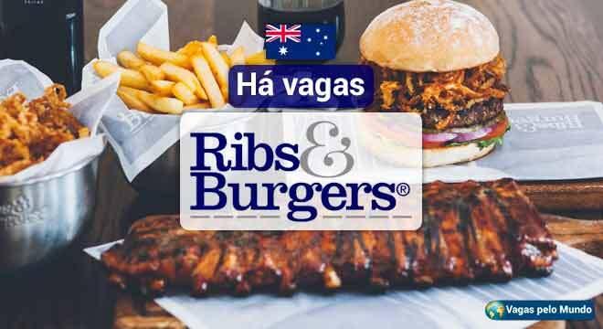 Ribs e Burgers esta contratando na Australia