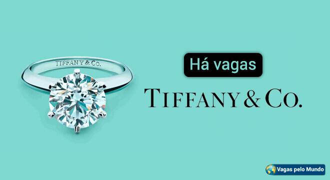 Vagas na Tiffany