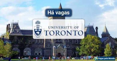 Universidade de Toronto esta com vagas abertas