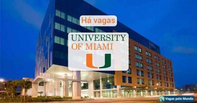 Universidade de Miami esta contratando