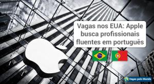 Apple esta em busca de profissionais fluentes em portugues