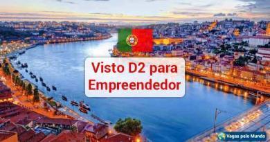 Visto empreendedor D2 Portugal