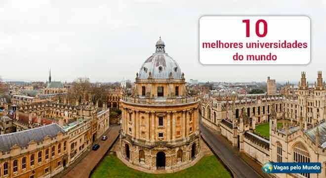 Conheca as melhores universidades do mundo