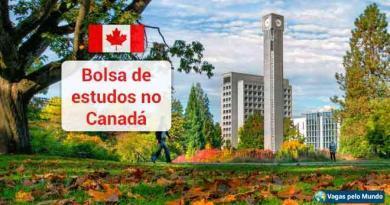 Bolsas de estudo no Canada