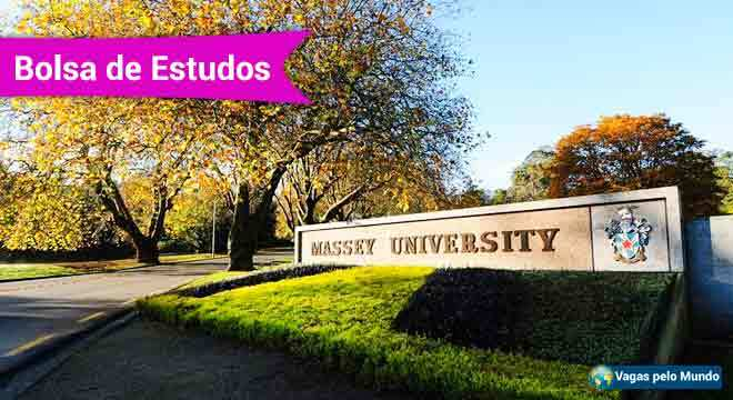 Universidade da Nova Zelandia esta ofertando bolsas de estudo no pais