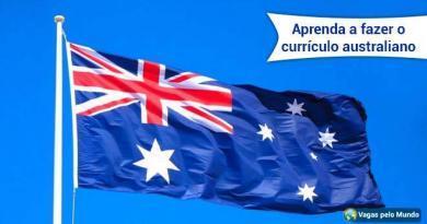 Saiba como fazer o curriculum australiano