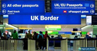 Aumentou o numero de brasileiros que optam pelo retorno voluntario do Reino Unido