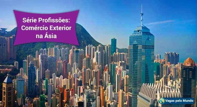 Comercio exterior na Asia