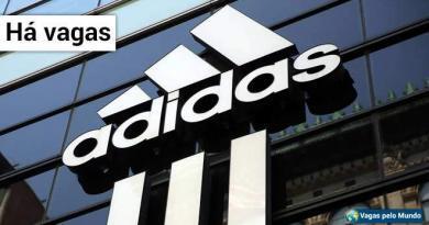 Adidas esta contratando em todo o mundo