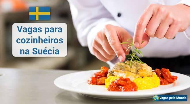 Suecia tem vagas abertas para cozinheiros