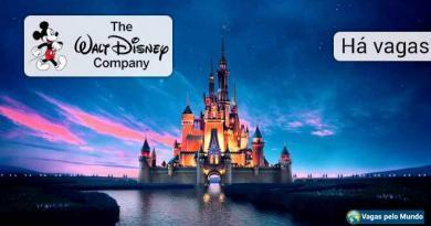 Vagas abertas na Disney